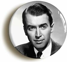 JAMES STEWART BADGE BUTTON PIN (1inch/25mm diameter) FORTIES HOLLYWOOD 1940s