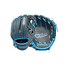 "Limited Edition Wilson A200 Autism Speaks Love the Moment 10"" Rht Tee Ball Glove"