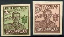 Philippines 1948 SG#665-6 Boy Scouts MH Imperf Set #E5056