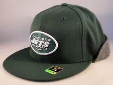 7b1cae4cc New York Jets NFL Reebok Fitted Cap Hat Size 7 3 8 Wool Flap