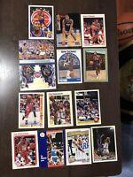 Isiah Thomas And Tim Hardaway Basketball Cards Lot (x14)