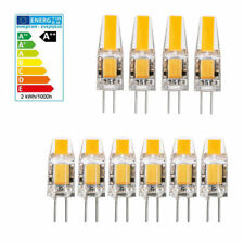 10x 4x Dimmable 3W 5W G4 LED Ampoule Lampe Spotlight AC DC 12V COB Blanc chaud