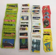 Teenage Mutant Ninja Turtles Topps Cards from 1990 Trading Cards & stickers RARE