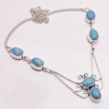 925 Sterling Silver Overlay Necklace, Handmade Gemstone Fashion Jewelry PN689