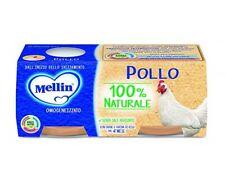 Mellin Pollo homogenisiert mit Fleisch Babynahrung ab 4 Monaten 2x80g