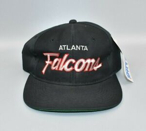 Atlanta Falcons Vintage Sports Specialties Script The Twill Snapback Cap Hat