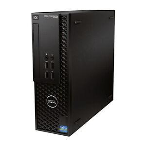 Dell Precision T1700 Quad Core i7-4770 3.4GHz 16GB RAM 2TB HDD Win10Pro Wi-Fi PC