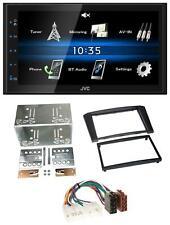 JVC 2DIN Bluetooth MP3 AUX USB Autoradio für Toyota Avensis 2003-2009