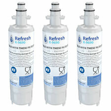Refresh LT700P Fits LG LT700P ADQ36006101 Refrigerator Water Filter 3pk