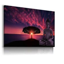 GAUTAMA BUDDHA INDIA MODERN CANVAS WALL ART PICTURE WS181 MATAGA . UNFRAMED