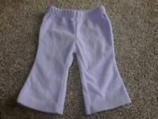 Carters Baby Girls Fleece Lt Purple Pants Size 3 Months 3M NWOT 0-3 mos Clothes