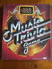 SALE!Game: Solid Gold Music TriviaGameTreasureTrove of MusicTrivia(Oldiesto1984)