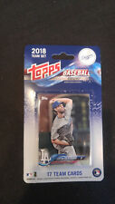 Los Angeles Dodgers 2018 Topps Factory Sealed Team Set