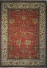 "Authentic  Wool 10' 0"" x 14' 2"" India Sultanabad Rug RNR-9587"
