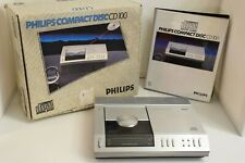 Philips CD 100 with original box, brochures. demo-CD etc - Near mint! CD-100