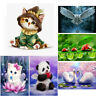 Animal 5D Diamond Painting Embroidery DIY Cross Stitch Craft Home Xmas Decor