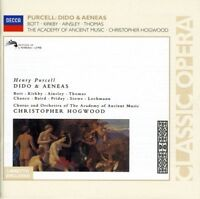 Henry Purcell - Dido and Aeneas/Bott, Kirkby, Ainsley, Thomas, AAM, Hogwood [CD]