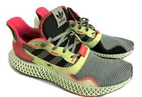 Adidas ZX 4000 4D Trainers Future craft men's UK 10.5 Sneakers V good condition