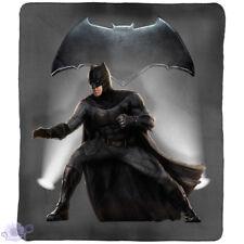 Batman Polar Fleece Throw Rug Blanket | DC | Justice League Superhero