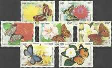 Timbres Papillons Cambodge 1033/9 ** lot 15771