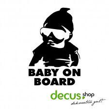 Baby on Board Baby Carlos Hangover // Sticker JDM Aufkleber Frontscheibe