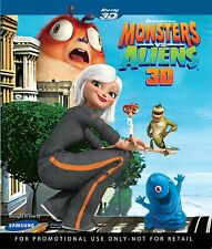 Monsters vs. Aliens 3D Blu Ray - NEW & SEALED - Animation & Anime, Region A/1