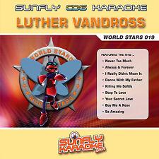 LUTHER VANDROSS SUNFLY KARAOKE CD+G