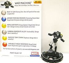 HeroClix Iron Man - #200 War Machine FCBD Promo