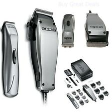 Professional Barber Set Shaver Clipper Trimmer Combo Andis 23-Piece Hair Kit NEW
