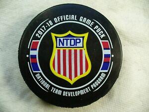 NTDP USA Hockey National Team Development Program Game Hockey Puck Collect Pucks
