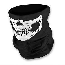 Fantasma Scheletro Teschio Maschera Balaclava Biker cod Costume Halloween Fancy Dress