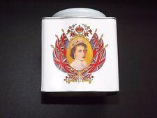 Robert Opie Collection - A Queen Elizabeth II Diamond Jubilee Tin Tea Caddy
