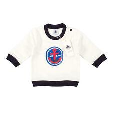 PETIT BATEAU Baby Sweatshirt 27872-88-010 Weiß / 6M (67 cm) / Pullover, Sweater