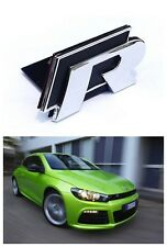 "Badge ""r"" Hatch Golf Mk6 MKVI Mk7 MKVII R VW Volkswagen Jetta Polo Scirocco Red"