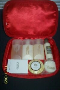 GILCHRIST&SOAMES SOAP SHAMPOO LOTION CONDITIONER,TRAVEL SAMPLE SIZE LOT OF 7