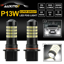 "102-PCS ""ULTRA BRIGHT"" P13W 2800LM CREE LED Fog Light Driving DRL White 6000K X2"