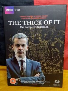 The Thick of It: Series 1, 2, 3 & The Specials (DVD, R4, 2010, 6-Disc Set)