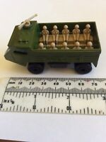 Vintage  Matchbox 1976 No 54 Personnel Carrier Green Toy Army Truck Carrier