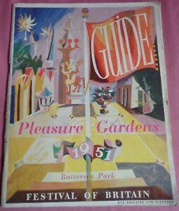 1951 Festival of Britain Guide Pleasure Gardens