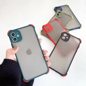 For Apple iPhone 12 12 Pro Bumper Shockproof Case Cover With Camera Protection