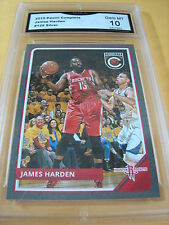 JAMES HARDEN ROCKETS 2015 PANINI COMPLETE SILVER # 129 GRADED 10