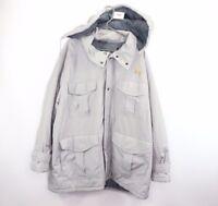 Vintage 80s Field & Stream Mens 3XL Gordon Ferguson Hooded Winter Parka Jacket