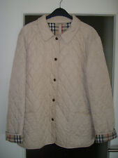 BURBERRY LONDON - Leichte Stepp-Jacke - Größe XL - Made in England - Jacke