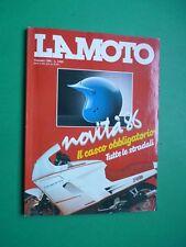 LA MOTO Gennaio 1986 Gilera 125 Hawk 250 Rally Honda XR 600R Yamaha TT 600