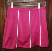 Womens XS IZOD Cool FX Bright Pink Active Golf Tennis Skirt w/Attached Shorts