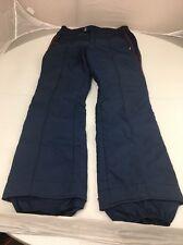 Vintage 70s EDELWEISS SKI WEAR Navy Blue Red Stripe Ski Snow insulated pants XL
