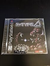 R-Type Delta PS1 Reproduction Case NO DISC