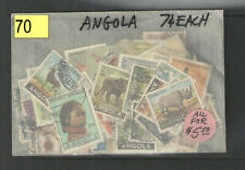 70 ANGOLA STAMPS COLLECTION ALL DIFFERENT MINT & USED    CHEAP