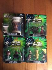 Star Wars Power Of The Jedi Set Of 4 Luke Leia Maul Amanaman