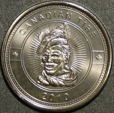 BU UNC 2010 Canadian Tire Money coin limited edition